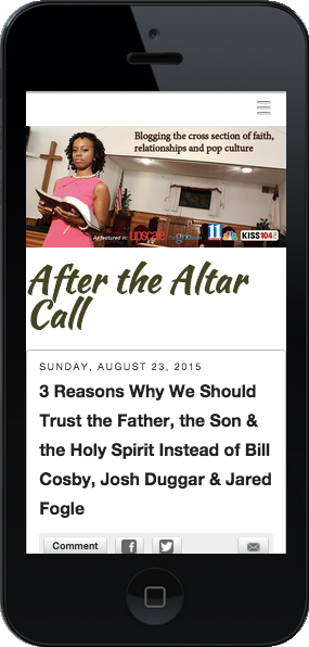 After the Altar Call phone