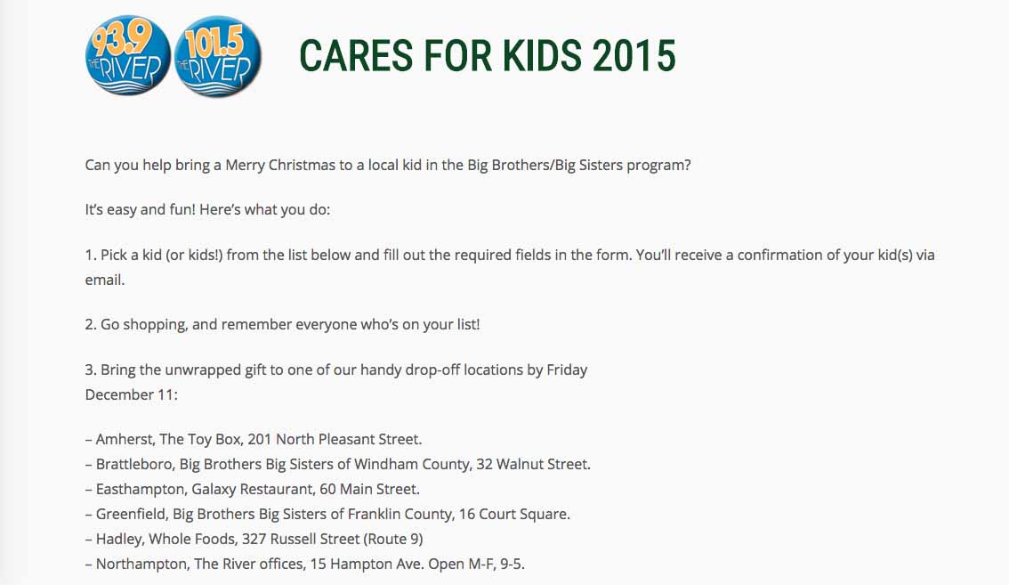 Cares for kids screenshot